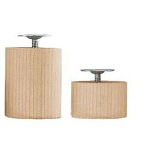 Piedi per mobili e divani faggio 50022 negozio online - Gambe per mobili ikea ...