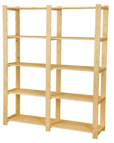Scaffali e librerie scaffale componibile su misura for Scaffali fai da te