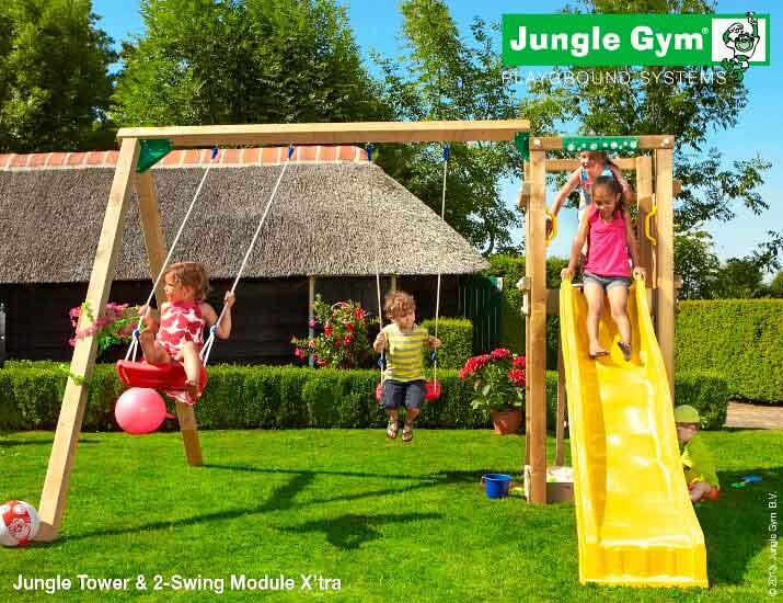 Parco-giochi-scivolo-altalena-tower-jungle-gym-swing-mybricoshop