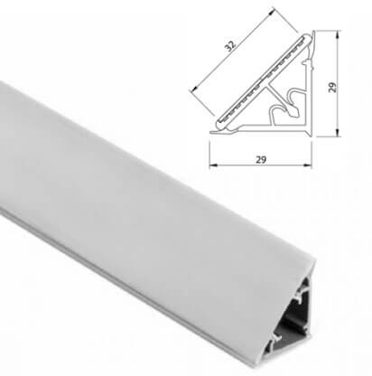 Alzatine in alluminio per top da cucina for Ikea alzatina
