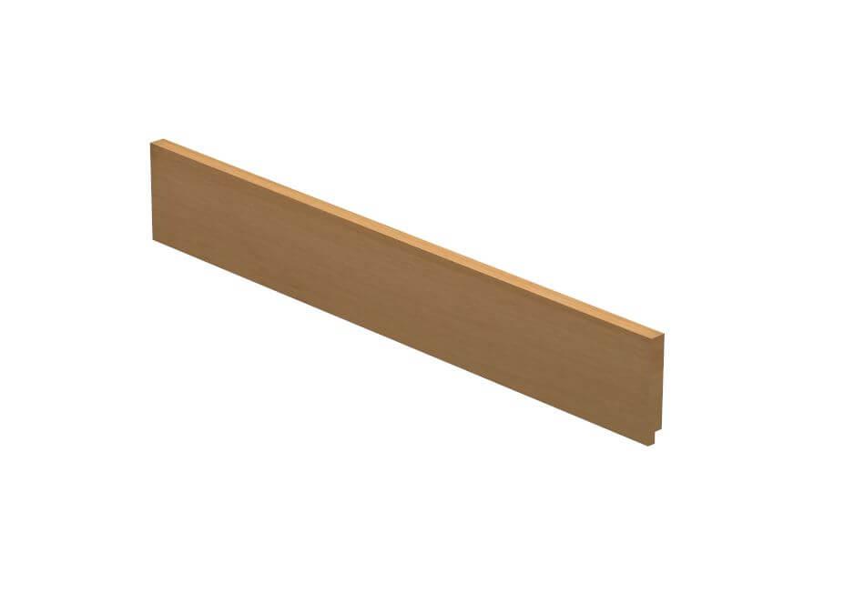 Gradini legno di faggio : Alzata per gradini in legno di faggio su misura