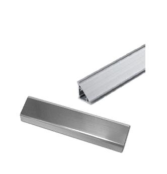 Alzatine in alluminio per top da cucina