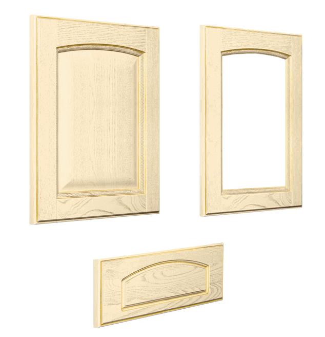 telai in legno con misure per vetromattoni misure standard : Anta in legno di frassino decapato Vittoria