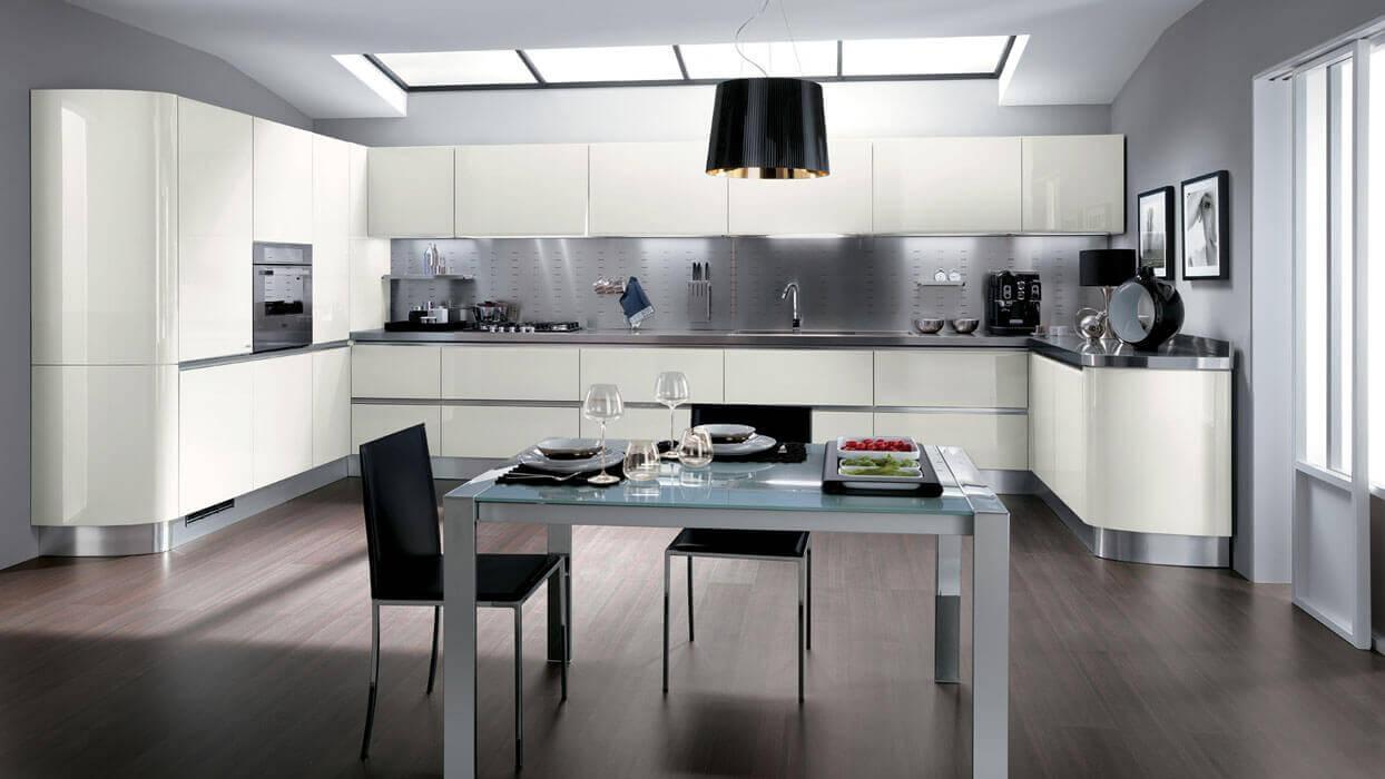Schienale per cucine in acciaio inox - Cucina acciaio prezzi ...