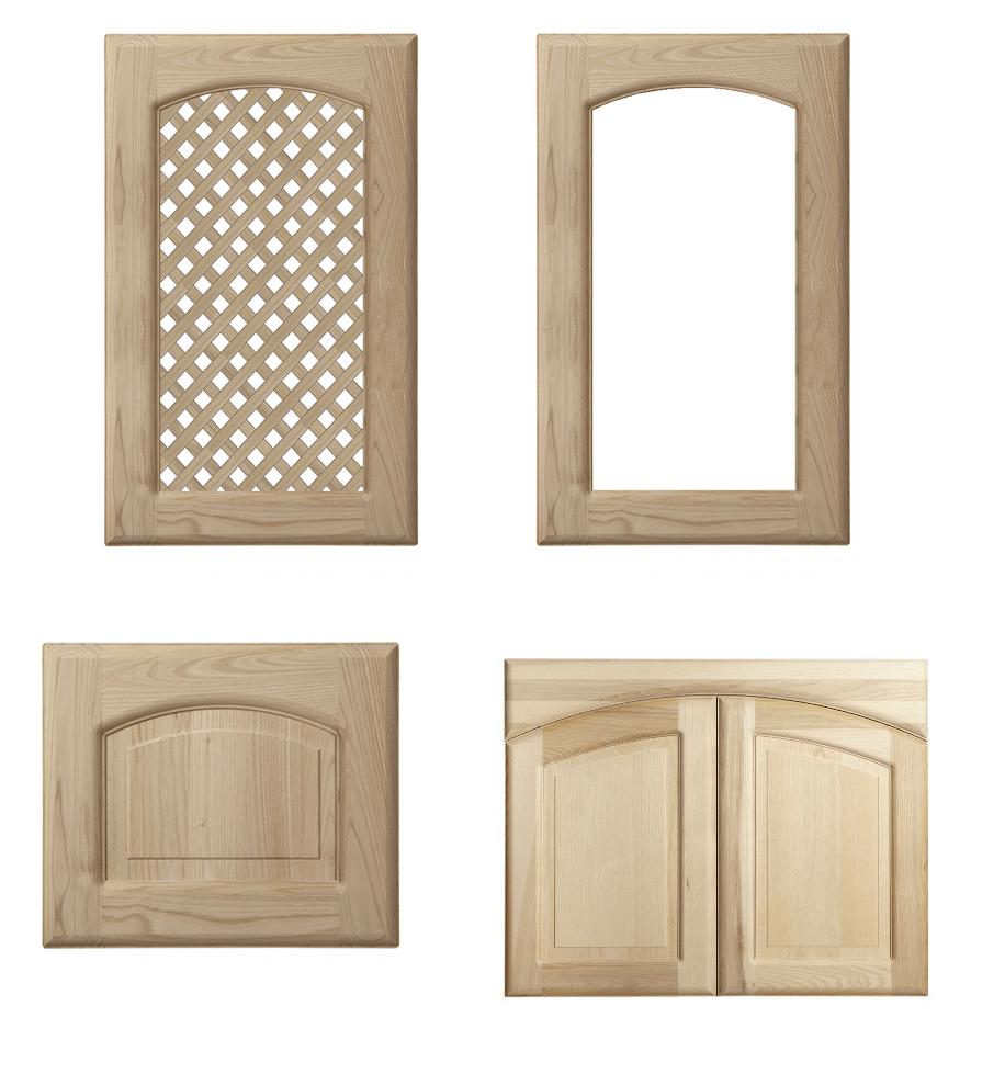 Anta in legno modello tiziana grezza - Ante per cucina laccate prezzi ...