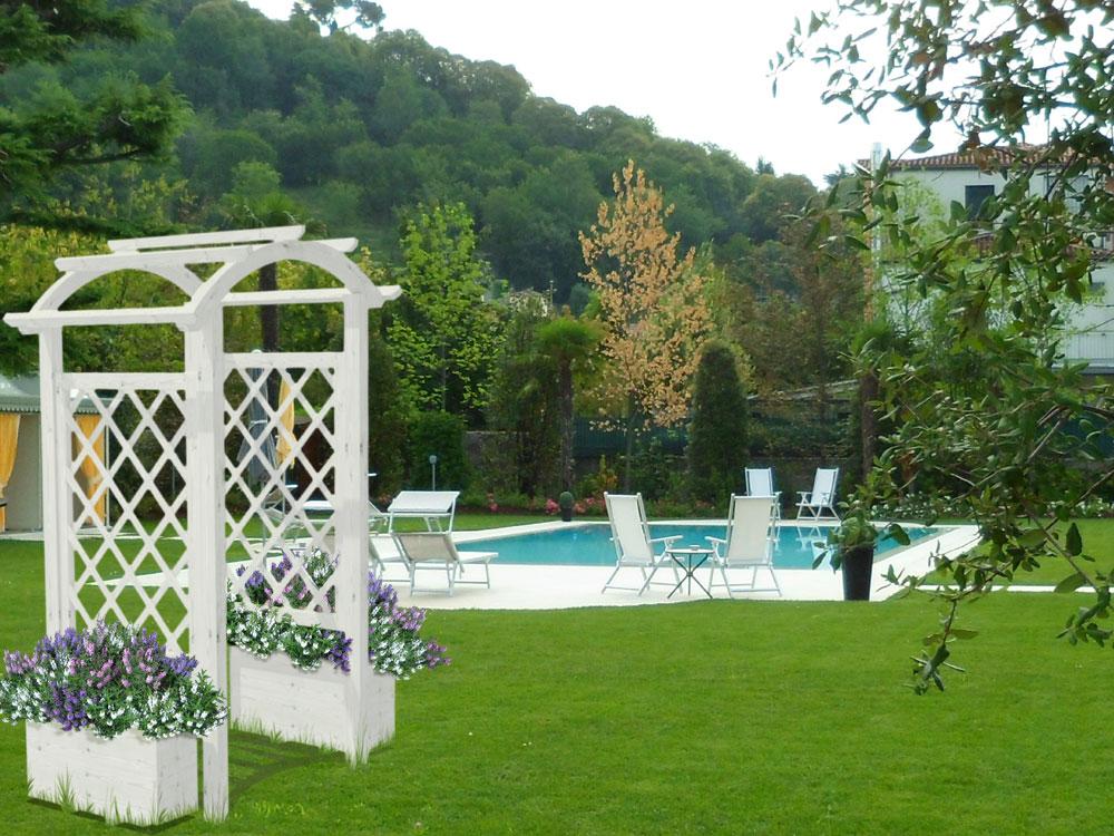 Decoro separ arco for Arco decorativo giardino