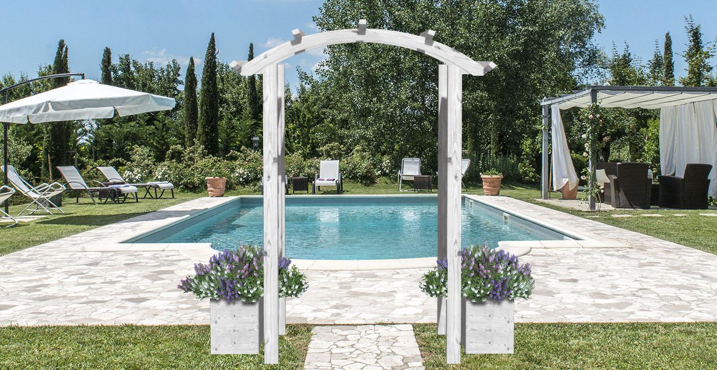 Da decorare camera letto ispirazioni for Arco decorativo giardino