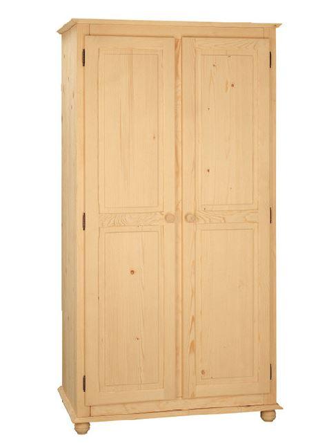 Armadi : Armadio Country 100 in legno massello