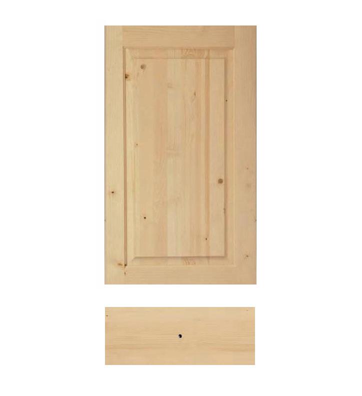 Antine in legno grezzo per cucina cucina piattaia - Verniciare cucina in legno ...