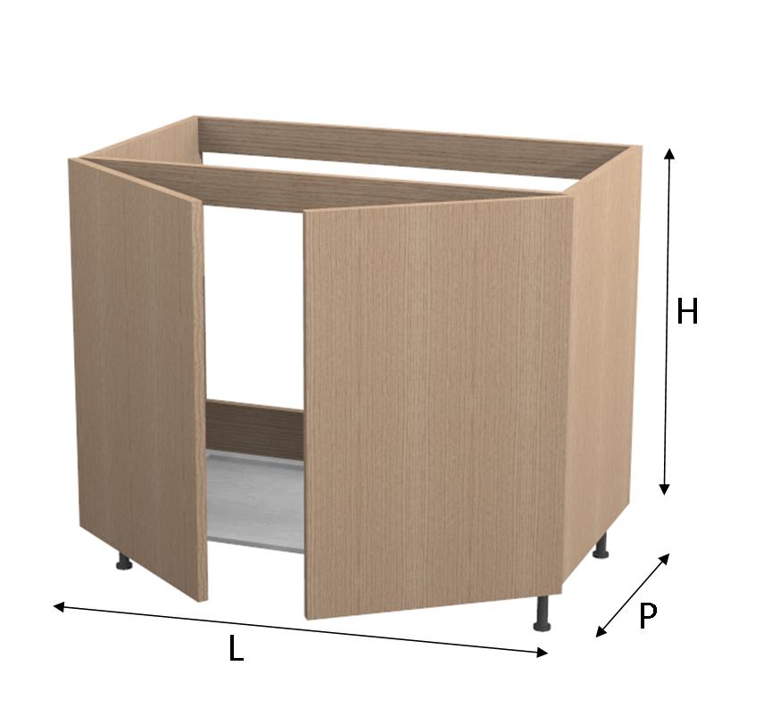 Base lavello comby - Base mobile cucina ...