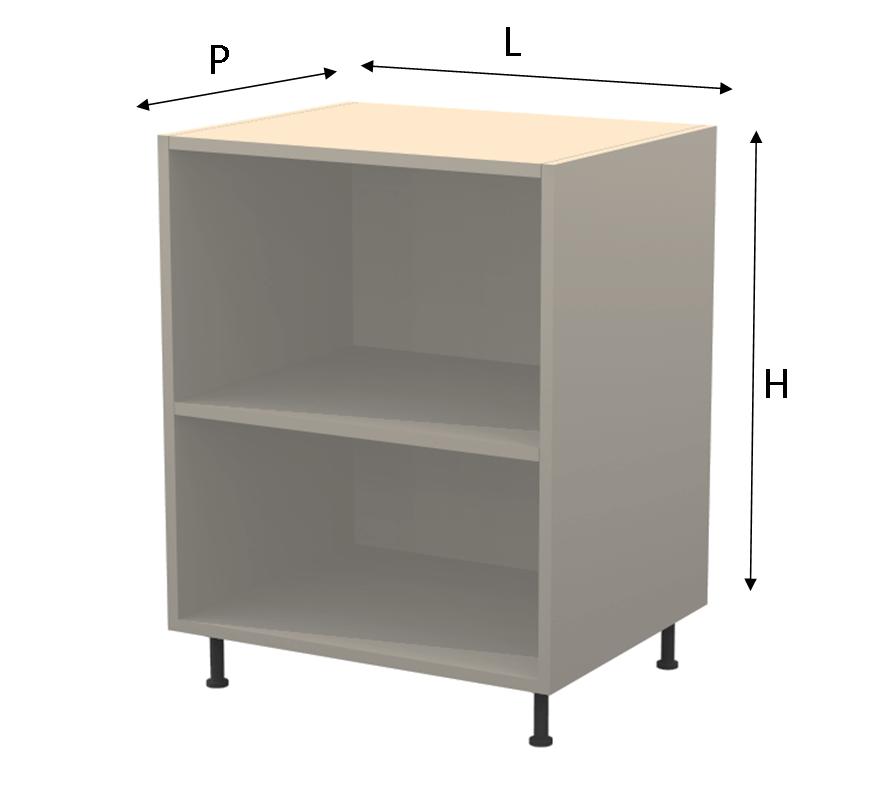 Mobili base per cucina design casa creativa e mobili ispiratori - Base mobile cucina ...