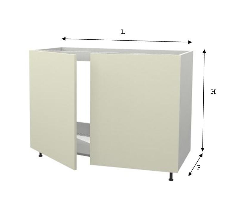 Base Per Lavello Cucina.Mobile Base Per Lavello Negozio Online Mybricoshop Com
