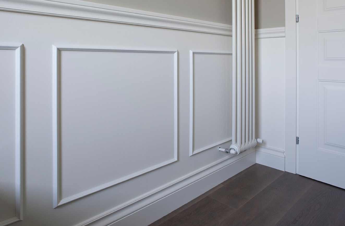Pannello laccato con cornice superiore e battiscopa negozio online - Cornici da parete ikea ...