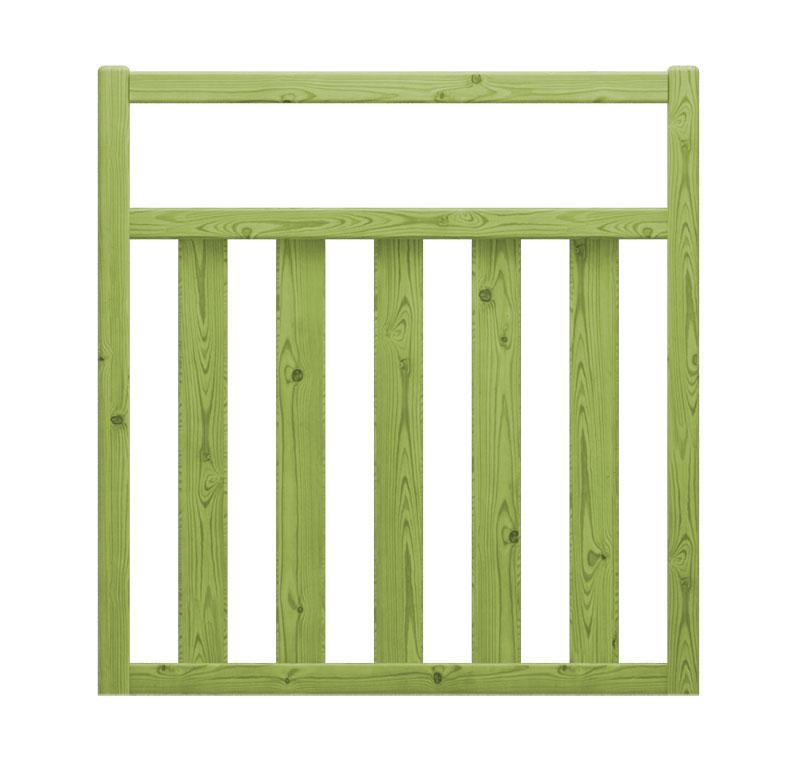 Cancelletto alta qualit in legno impregnato mara - Cancelletto in legno per esterno ...