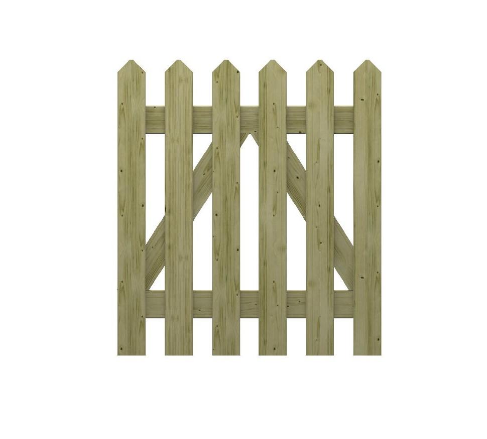 Cancelletto in legno impregnato martha - Cancelletto in legno per esterno ...