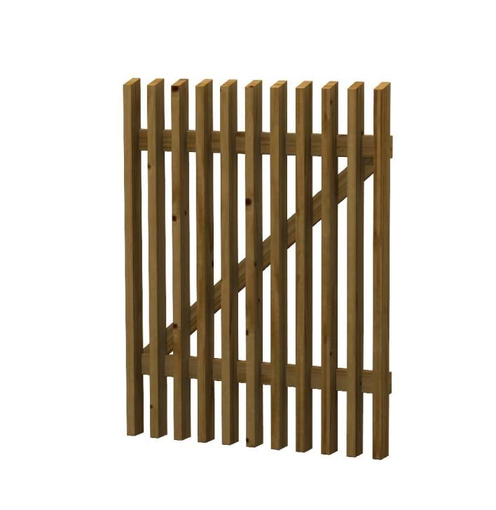Cancelletto in legno impregnato du misura rita - Cancelletto in legno per esterno ...