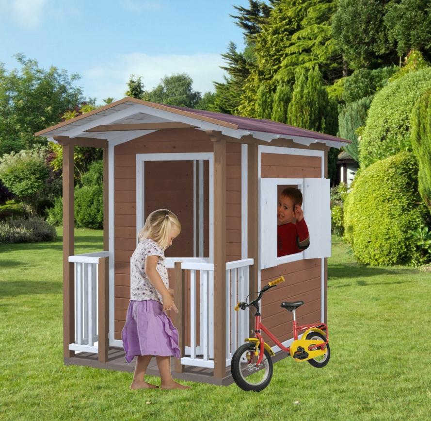 Casetta per bambini billo in legno impregnato for Casetta bambini usata