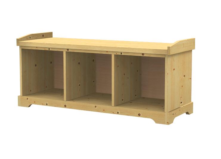 Cassapanca in legno massello sumis negozio online for Cassapanca online