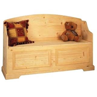 Cassapanca versailles legno massello for Cassapanca legno grezzo