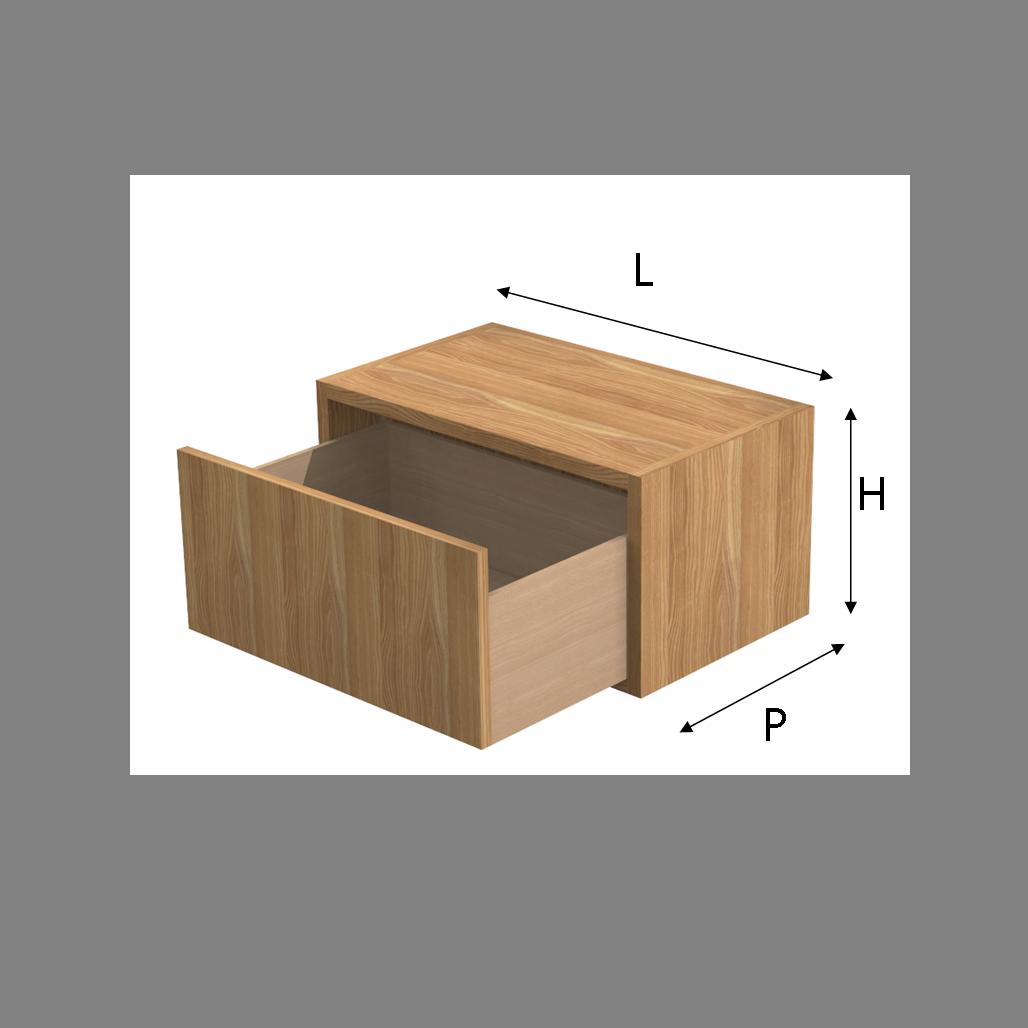 Cassetti Su Misura.Modulo Q Box Con Cassetto In Legno
