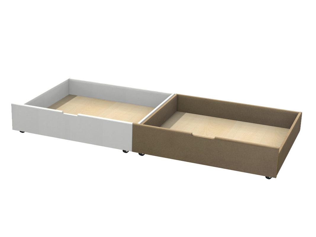 Cassetto Sotto Letto Con Ruote : Cassetto contenitore sotto letto in mdf negozio online mybricoshop
