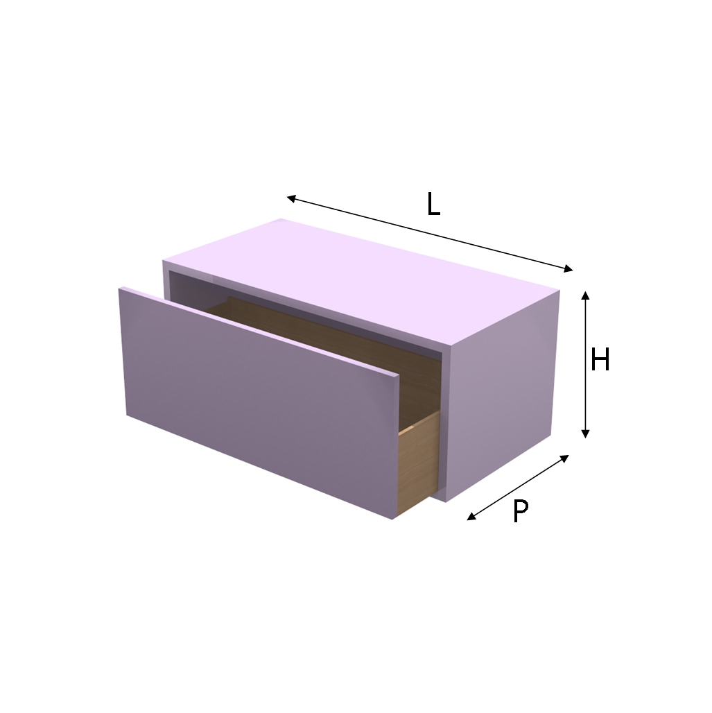 Cassetti Su Misura.Modulo Q Box Con Cassetto In Laminato