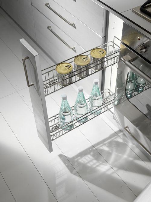 Cestelli Estraibili Per Mobili Cucina.Cestello Estraibile Portabottiglie