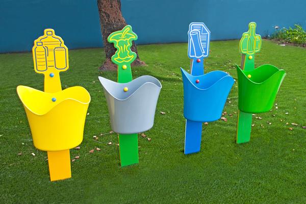 Credenza Per Raccolta Differenziata : Cestini rifiuti per parco giochi raccolta differenziata