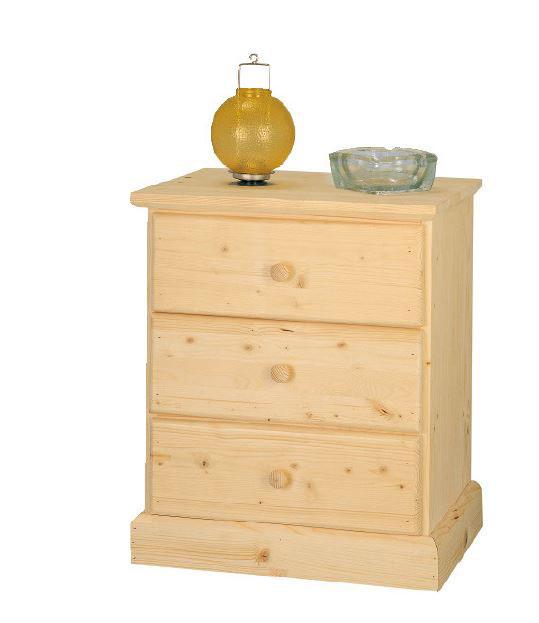 Comodino e porta tv in legno massello
