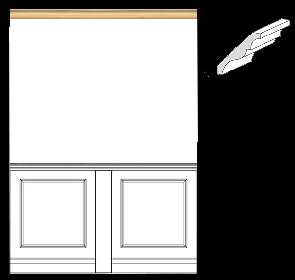 Cornice Decorativa Per Soffitti In Legno Negozio Online Mybricoshop Com