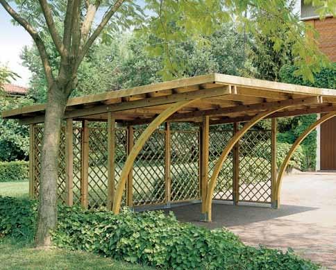 Covercar carport modulare arco longi for Carport 2 posti