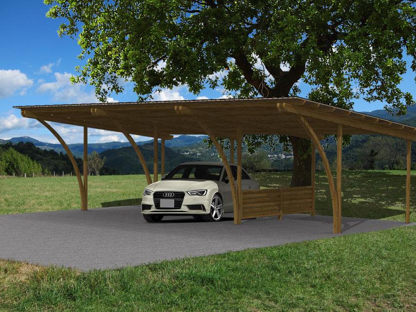 Covercar carport modulare ad arco for Carport 2 posti