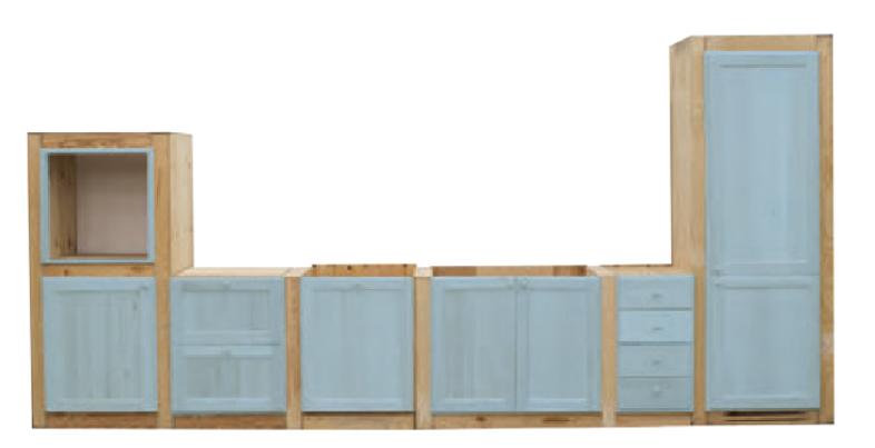 Fianchi per cucine in muratura su misura - Moduli per cucine componibili ...