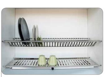 Scolapiatti in acciaio per pensili - Pensili cucina fai da te ...