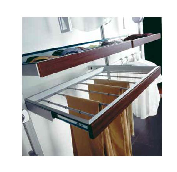 Ripiano Cabine Armadio Player : Portapantaloni in alluminio per armadi