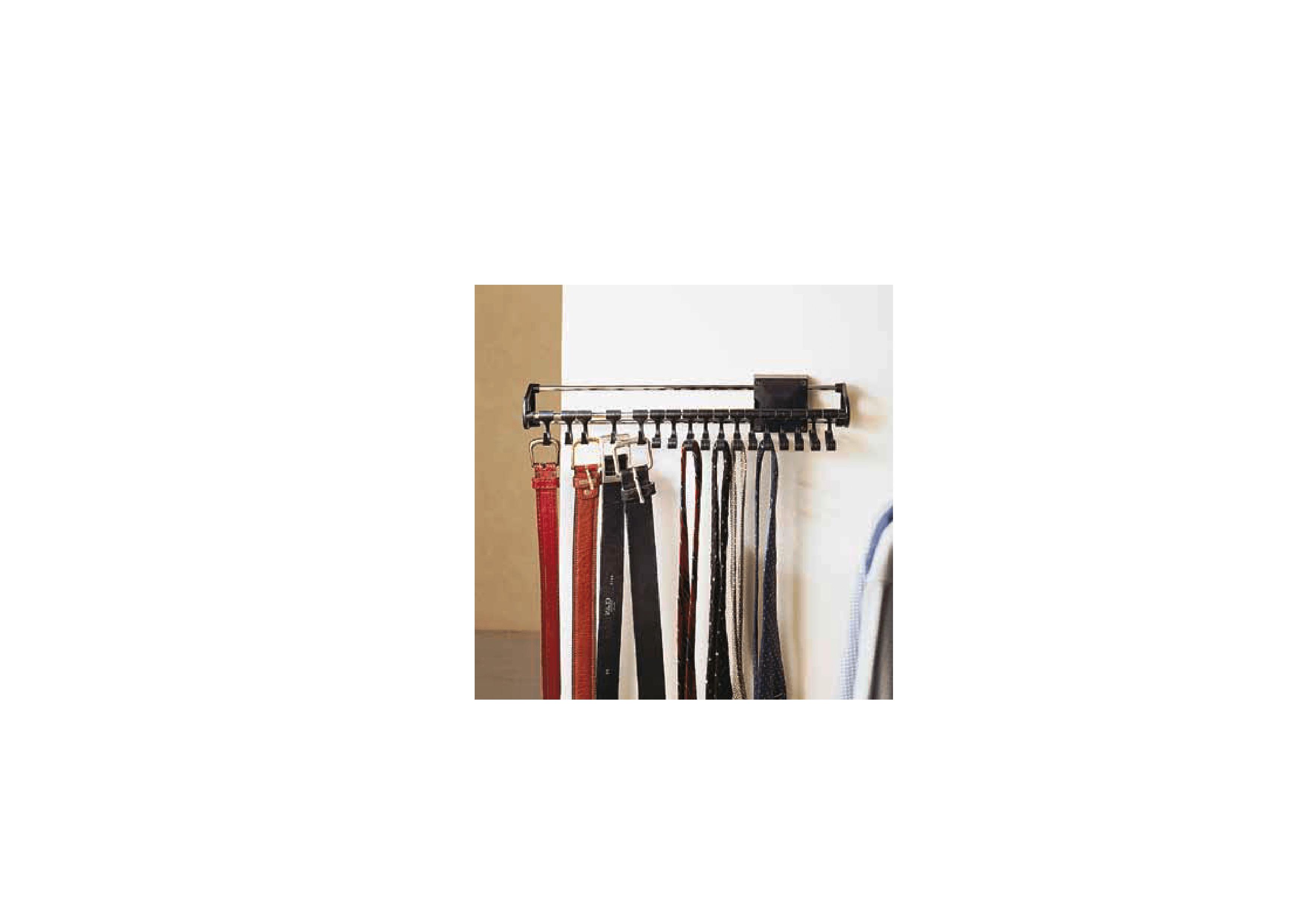 Portacravatte portacinture per amradi