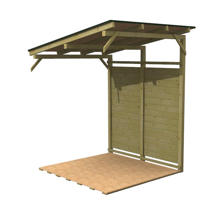 Portalegna da esterno brico barbecue brico with for Porta legna da esterno