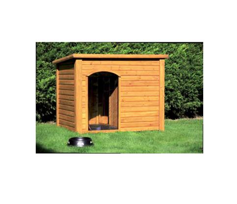 Cuccia per cani in legno fido negozio online for Cucce per cani da esterno coibentate