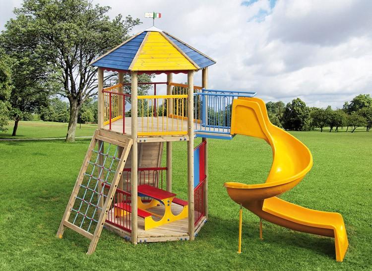 Parco giochi fai da te wr47 pineglen for Scivoli da giardino ikea