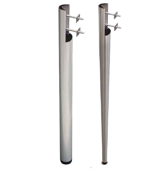 Gambe spaccate in metallo per tavoli