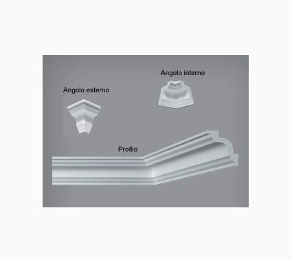 Cornici i780 per soffitti polistirene for Cornici in polistirolo per soffitti