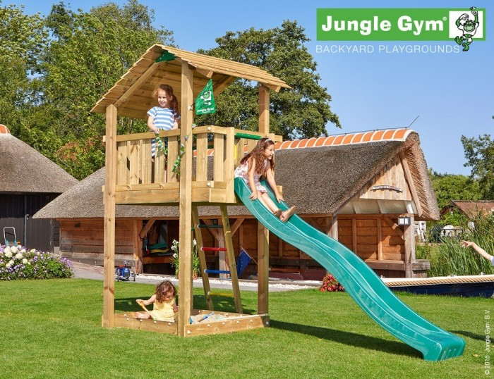 Torretta gioco SHELTER Jungle-Gym-con scivolo_mybricoshop