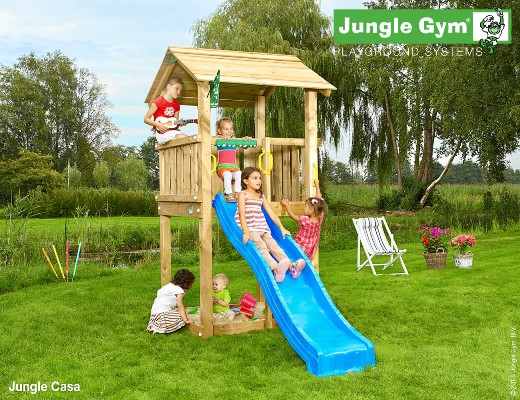 Torretta gioco CASA Jungle Gym con scivolo_mybricoshop-jungle-Gym