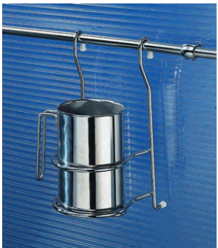 Portaposate in acciaio inox negozio online - Pomelli cucina acciaio ...