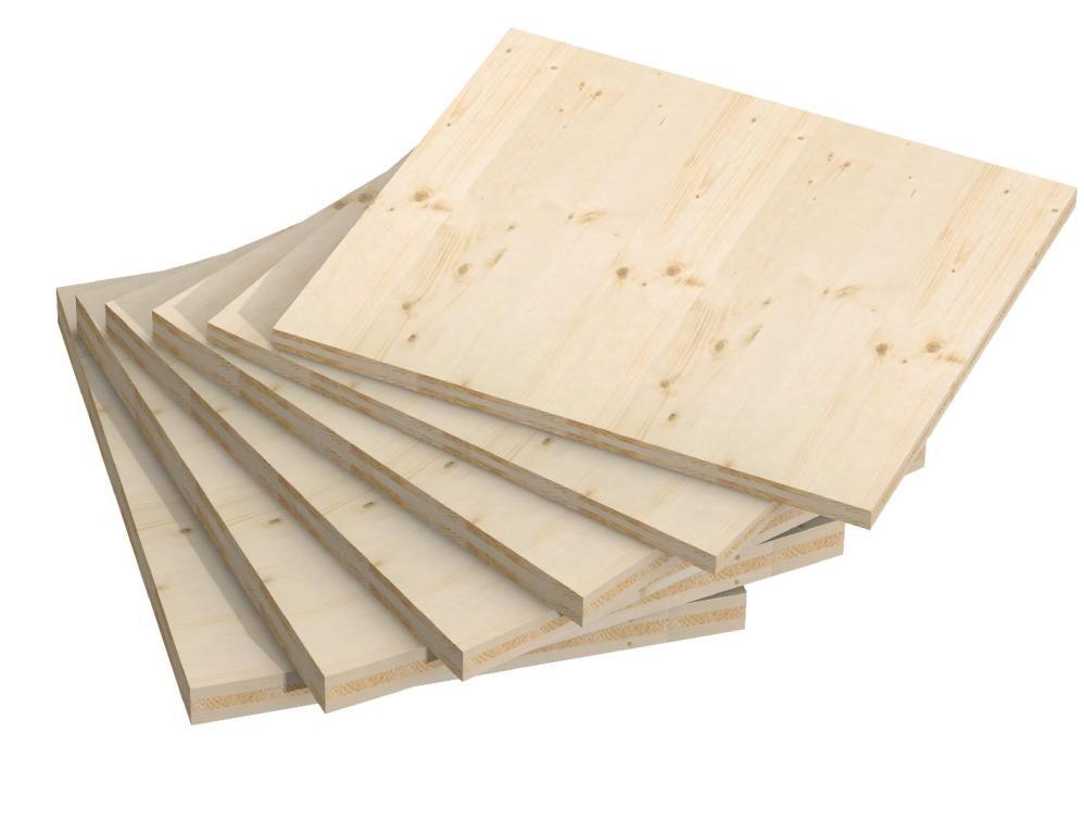 pannelli in legno lamellare di abete 3 strati