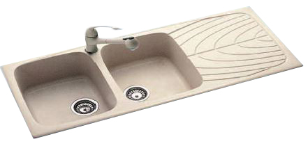 Lavello cucina fragranite – Colonna porta lavatrice