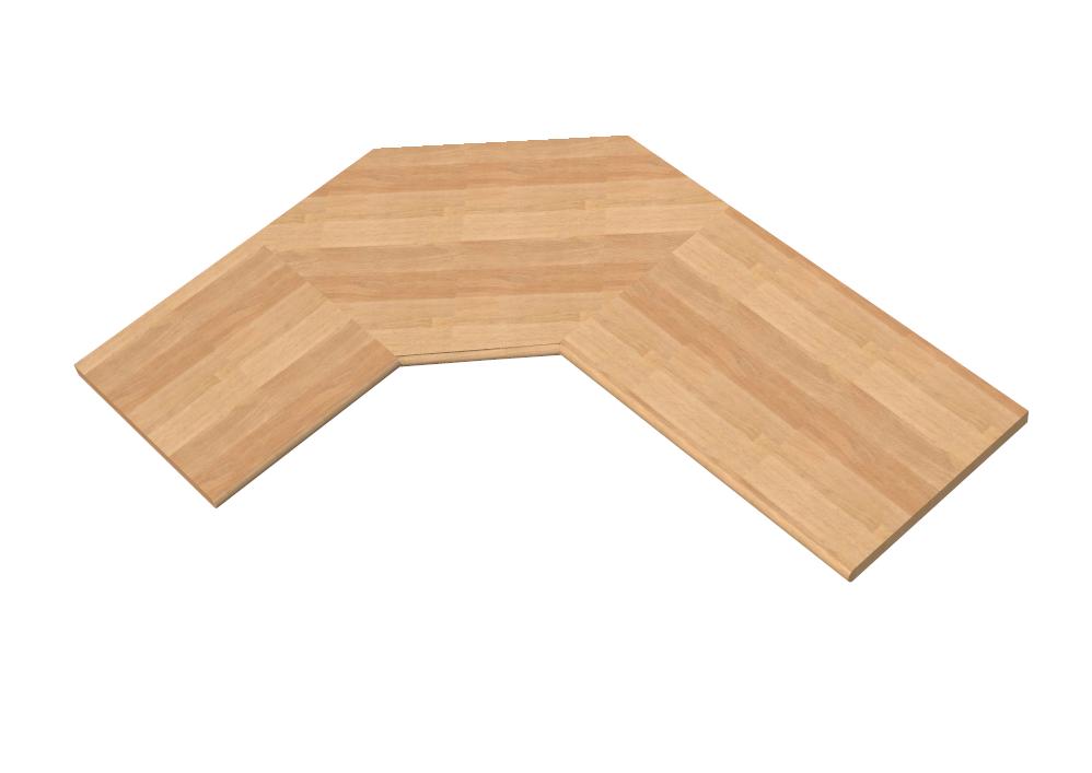 Sagomatura a trapezio per angoli top e piani tavolo cucina for Piani del sito online