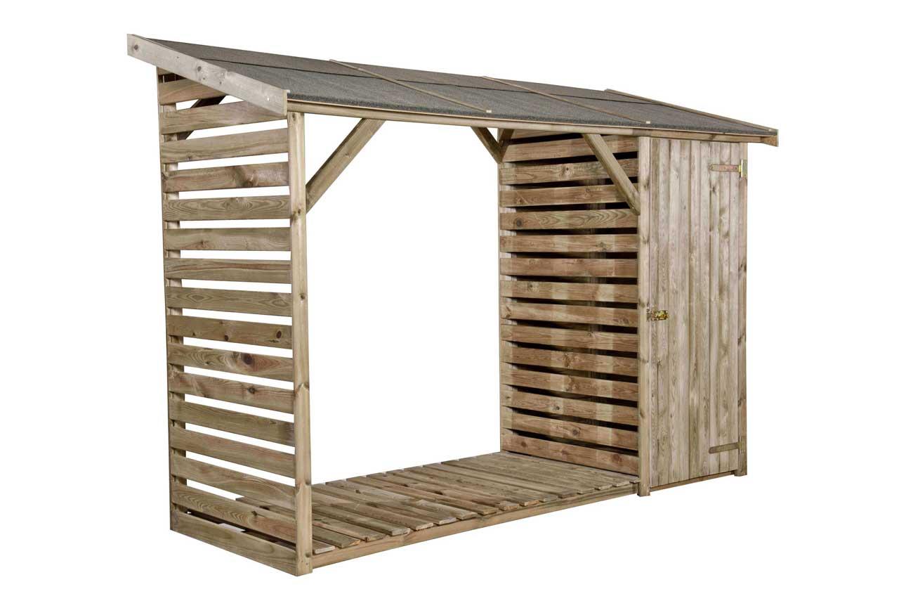 legnaia con ripostiglio negozio online