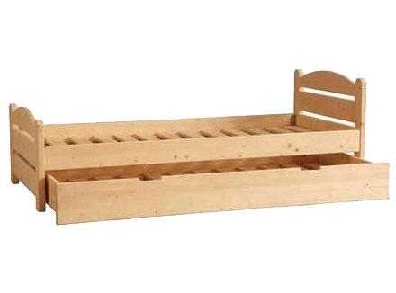 Letto in legno massello negozio online - Letto in legno grezzo ...