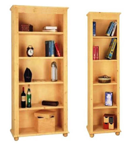 Libreria in legno massello Classica su misura negozio online ...